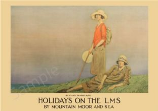 Holiday on the LMS - Art Deco